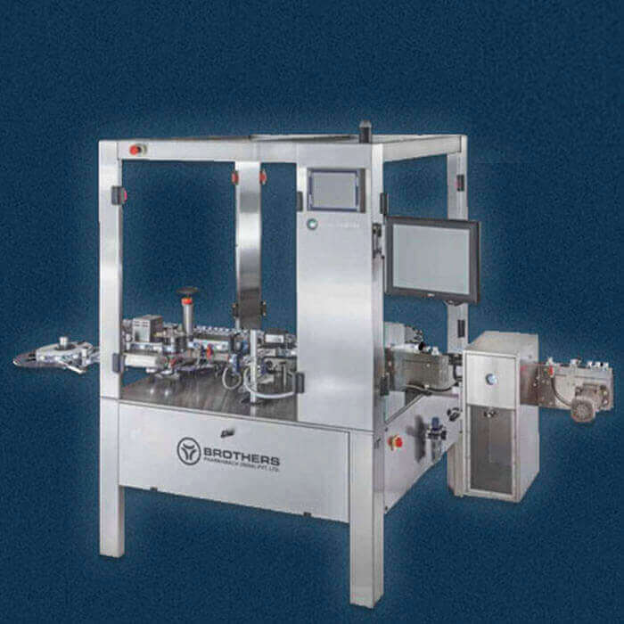 Automatic Dry Syrup Powder Filling Machine Model Dryfill 60.twin